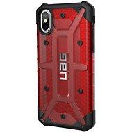 UAG Plasma Case Magma Red iPhone X - Kryt na mobil