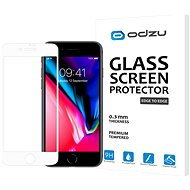 Odzu Glass Screen Protector E2E White iPhone 8/7 - Ochranné sklo