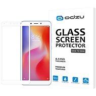 Odzu Glass Screen Protector E2E White Xiaomi Redmi 6 - Ochranné sklo
