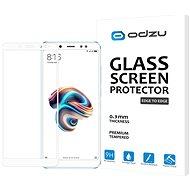 Odzu Glass Screen Protector E2E White Xiaomi Redmi Note 5 - Ochranné sklo