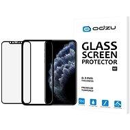 Odzu Glass Screen Protector E2E Kit iPhone 11 Pro/XS s inštalačným rámčekom - Ochranné sklo