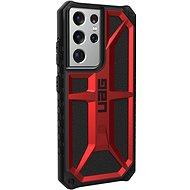Kryt na mobil UAG Monarch Crimson Red Samsung Galaxy S21 Ultra - Kryt na mobil