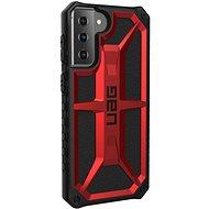 Kryt na mobil UAG Monarch Crimson Red Samsung Galaxy S21+ - Kryt na mobil