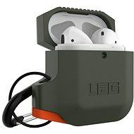 UAG Silicone Case Olive Drab/Orange AirPods - Puzdro
