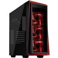 SilverStone Redline RL06BR-GP čierno-červená - Počítačová skriňa