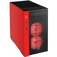 SilverStone Redline RL08 RGB červená - PC skrinka