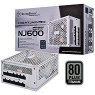 SilverStone Nightjar Fanless Titanum NJ600 600W - PC zdroj