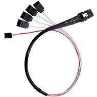 SilverStone Mini-SAS SFF-8087 čierny - Dátový kábel