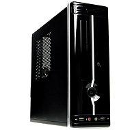 Eurocase mini-ITX Wi-02C čierno-strieborná - PC skrinka