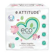 ATTITUDE Wipes bez vône (3 x 72 ks) - Eko vlhčené utierky