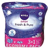 NIVEA BABY Fresh & Pure 4× 63 ks