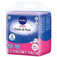 NIVEA BABY Fresh & Pure 6× 63 ks - Detské vlhčené obrúsky