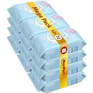 MonPeri Mega Pack (12× 72 pcs) - Baby Wet Wipes