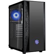 SilverStone FARA B1 RGB Black - PC skrinka