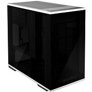 SilverStone Lucid LD01 Black - PC skrinka