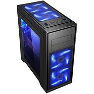 EVOLVEO T4 čierna - Počítačová skriňa