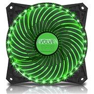 EVOLVEO 12L2GR LED 120 mm zelený - Ventilátor do PC