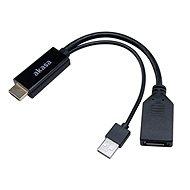 Akasa HDMI na DisplayPort adaptér s USB napájaním/AK-CBHD24-25BK - Redukcia