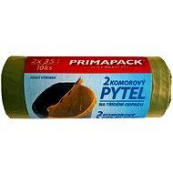 PRIMAPACK 2-komorové vrecia na odpad 2x35L/10ks - Vrecia na odpadky