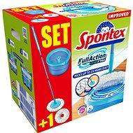 SPONTEX Full Action System Plus (+ abrazívne náhrada zadarmo) - Mop