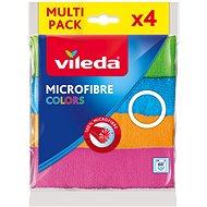 VILEDA Mikrohandrička Colors 4 ks