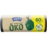 SWIRL EKO Zaťahovacie vrecia 60 l, 8 ks - Eko vrecia na odpad