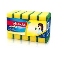 VILEDA Style Tip Top hubka 5 ks - Umývacia hubka