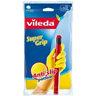 VILEDA Gloves Supergrip L - Rubber Gloves