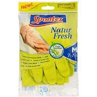 SPONTEX Natur Fresh rukavice M - Gumené rukavice