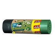 FINO LD Green Life Retractable Bags 35l, 15 Pcs
