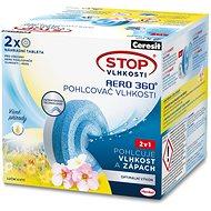 CERESIT STOP Vlhkosti AERO 360° Lúčne kvety náhradné tablety 2× 450 g - Pohlcovač vlhkosti