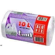 ALUFIX Vrecia na odpadky zaväzovacie s uchami 60 l, 71 × 16 × 64 cm, farba biela, 12 ks/kotúč - Vrecia na odpad