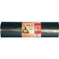 ALUFIX Vrecia na odpadky veľmi silné 180 l, 80× 120 cm, farba čierna, 10 ks/kotúč - Vrecia na odpad
