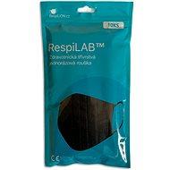 RespiLAB Jednorazové zdravotnícke rúška - Čierne (10 ks) - Rúško
