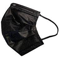 RespiLAB Detské jednorazové ústenky – Čierne  (10 ks) - Rúško