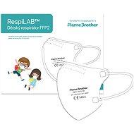RespiLAB Detský Respirátor FFP2 NR, 10 ks (Biely) - Respirátor
