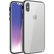 Uniq Valencia Clear Hybrid iPhone Xs Max Titanium - Kryt na mobil