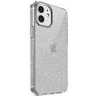 Uniq Hybrid iPhone 12 mini LifePro Tinsel Antimicrobial Lucent Clear