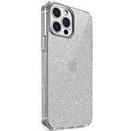 Uniq Hybrid iPhone 12/12 Pro LifePro Tinsel Antimicrobial Lucent Clear - Kryt na mobil