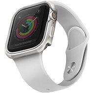 Uniq Valencia pre Apple Watch 44 mm Blush Titanium strieborný - Ochranný kryt na hodinky