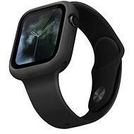 Uniq Lino pre Apple Watch 44 mm Ash čierny - Ochranný kryt