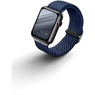 UNIQ Aspen Braided remienok pre Apple Watch 40/38 mm modrý - Remienok