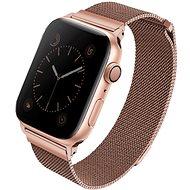 Uniq Dante pre Apple Watch 44 mm Rose ružový - Remienok