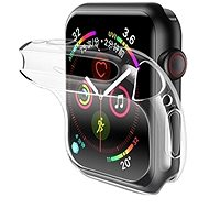 USAMS US-BH485 TPU Full Protective Case for Apple Watch 40 mm transparent - Ochranný kryt