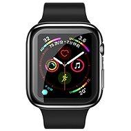 USAMS US-BH485 TPU Full Protective Case for Apple Watch 44 mm black - Ochranný kryt na hodinky