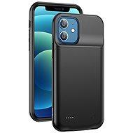 USAMS US-CD157 Battery Case for iPhone 12 3500 mAh black - Kryt na mobil