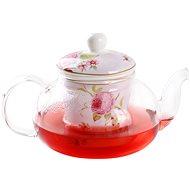 UTC Kanvica na čaj s filtrom 0,6 L sklo/porcelán - Čajová kanvica