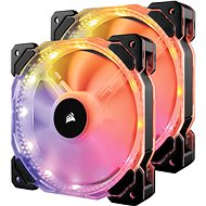 Corsair HD140 2-pack RGB LED - Ventilátor do PC
