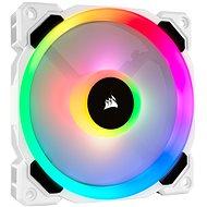 Corsair LL120 RGB 120 mm Dual Light Loop White RGB LED PWM Fan – Single Pack