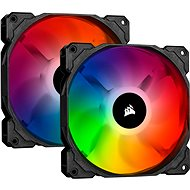 Corsair iCUE SP140 RGB PRO 140mm RGB LED Fan, Dual Pack with Lighting Node Core - Ventilátor do PC